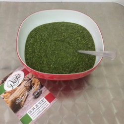 Sauce d'accompagnement pesto